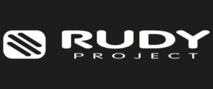 Rudy Project Sunglasses and Helmets Logo with White Letters